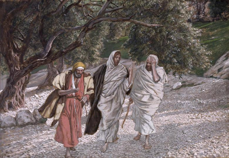 disciples-on-the-road-to-emmaus-tissot