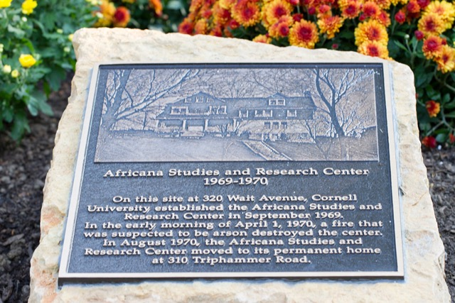 africana center plaque